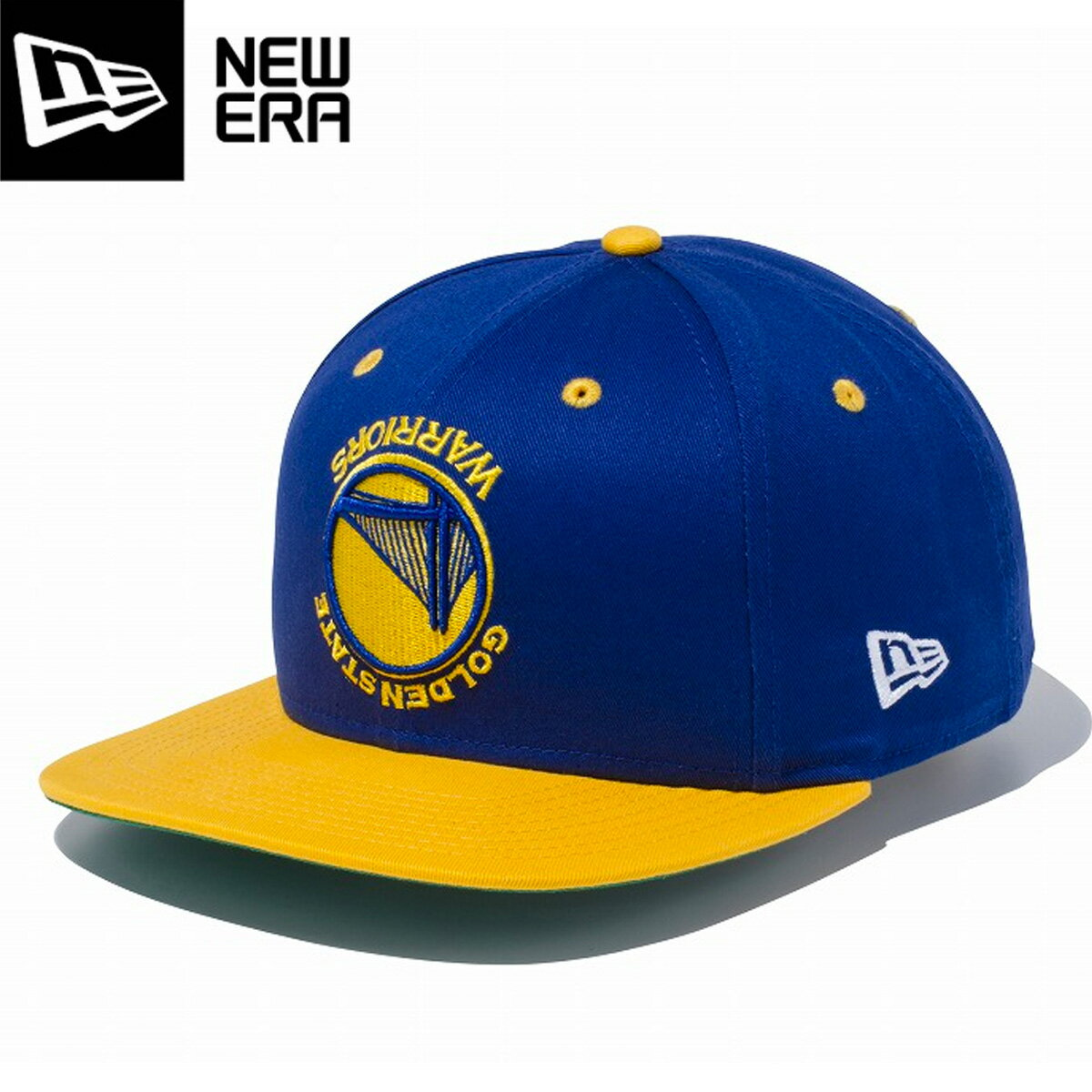 NEW ERA 9FIFTY ORIGINAL FIT UPSIDE DOWN �j���[�G�� 9FIFTY �A�b�v�T�C�h � �E�� �S�[���f���X�e�[�g �E�H���A�[�Y GOLDEN STATE WARRIORS